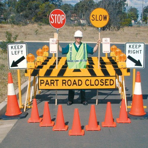 We have a full range of traffic control equipment available for hire now