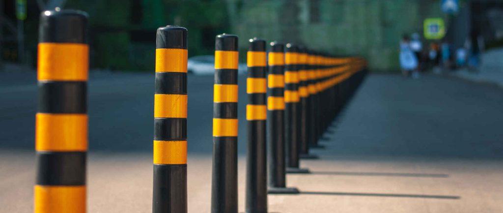 Road safety bollards
